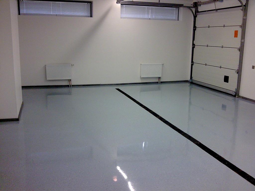 Полимерные полы в гараж
